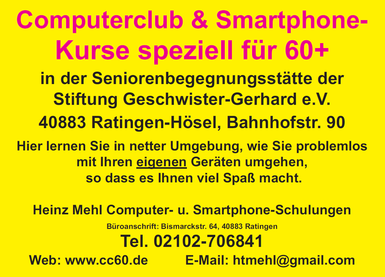 Computerclub 60Plus